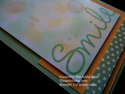 So You for Try Stampin' On Tuesday 213 - detail from theartfulinker.com