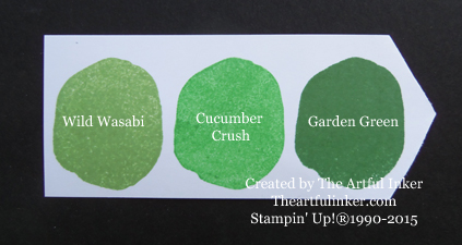 Cucumber Crush Ink Chip from theartfulinker.com