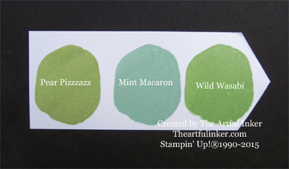 Mint Macaron Ink Chip from theartfulinker.com