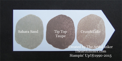 Tip Top Taupe Ink Chip from theartfulinker.com