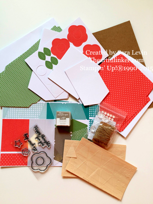 June Paper Pumpkin ( 2015 ) kit contents - theartfulinker.com