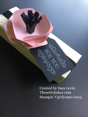 Chalk It Up to Love, August, 2015 Paper Pumpkin foiled box from theartfulinker.com