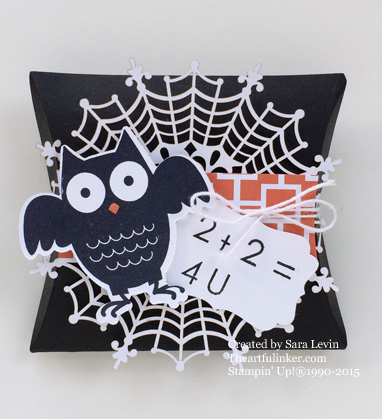 Howl-o-ween Treat for back to school from theartfulinker.com
