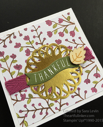 Acorny Thank You Love Note 2 of 4 from theartfulinker.com