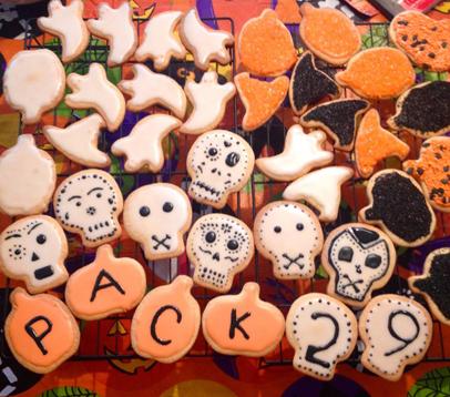 Liz's Halloween Cookies