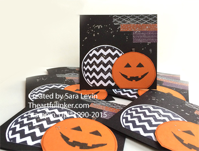 Sparkly Seasons Pumpkin Carving Party Invitation from theartfulinker.com