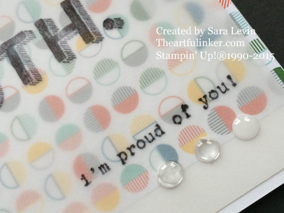 Words of Truth - I'm Proud of You - detail from theartfulinker.com