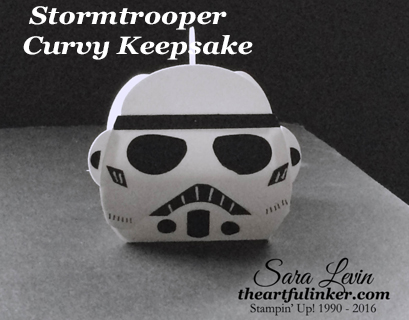 Star Wars Stormtrooper Curvy Keepsake Box from theartfulinker.com