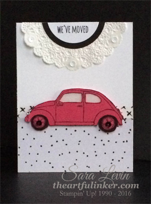 Beautiful Ride Moving Card for Creation Station from theartfulinker.com