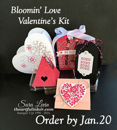Bloomin' Love Valentines Kit to Go