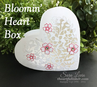 Bloomin' Heart Box for Creation Station from theartfulinker.com