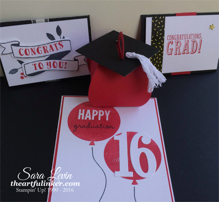 Graduation Projects using Celebrate Today, Banners for You and BYOP - from theartfulinker.com
