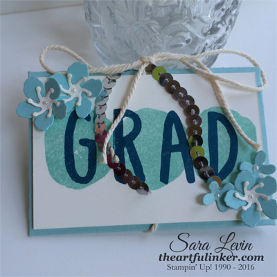 Layered Letters Gift Card Holder from theartfulinker.com