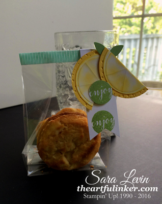 Ready to Pop Lemon Cookie package from theartfulinker.com