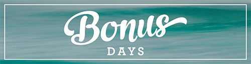 Bonus Days - from theartfulinker.com