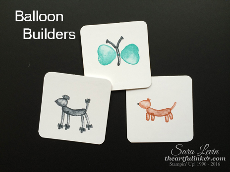 Balloon Builders animal creations picture 1 from theartfulinker.com for OSAT Blog Hop