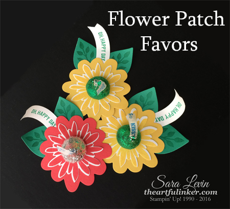 Flower Patch Fall Favors from theartfulinker.com
