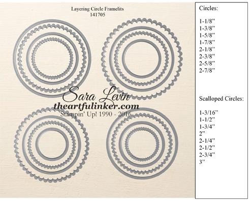 Layering Circles Framelits #141705