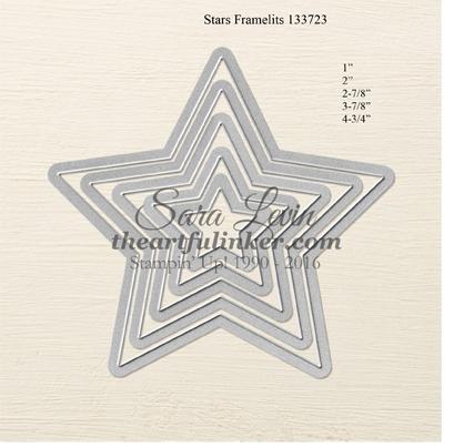 Stars Framelits #133723