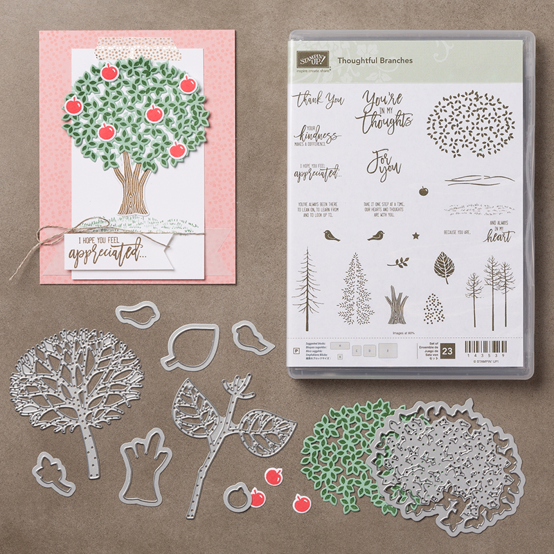 Thoughtful Branches Bundle - available August 1- 31 from theartfulinker.com