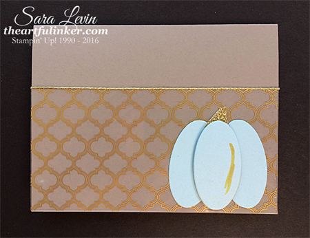 Fabulous Acetate card for Fall from theartfulinker.com