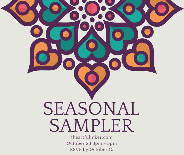 Seasonal Sampler Class from theartfulinker.com