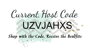October 2016 Host Code - UZVJAHXS - from theartfulinker.com