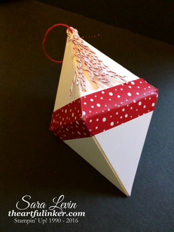 Pyramid Pals Gem Ornament for Creation Station from theartfulinker.com