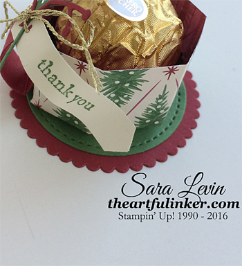 Ferrero Rocher mug - angled view - from theartfulinker.com