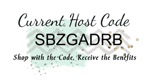 November Host Code 2016 - SBZGADRB - from theartfulinker.com