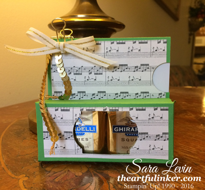 Gift Card Holder with Ghiradelli from theartfulinker.com