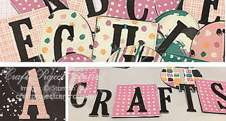 Letters and Textures & Shapes (Oh, My!)!