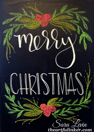 Merry Christmas! from theartfulinker.com