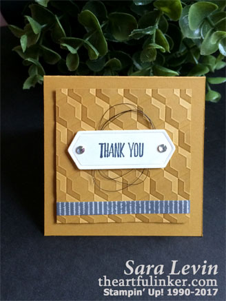 All Things Thanks 3 x 3 gift insert or love note from theartfulinker.com
