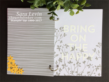 Another Great Year Mini Album layout 1 from theartfulinker.com