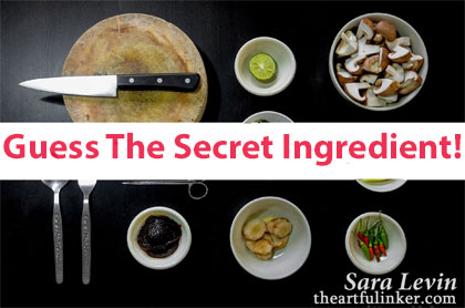 What's the Secret Ingredient from theartfulinker.com