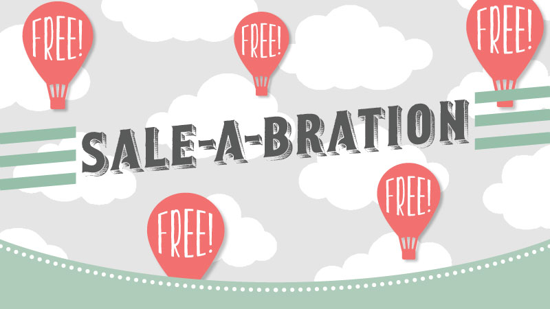 Sale-A-Bration: earn 1 free Sale-A-Bration product with every $50 product purchase!!!
