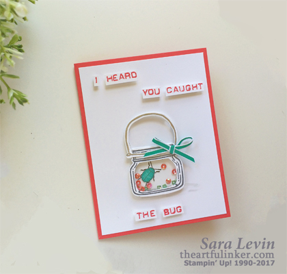 Beetles and Bugs Get Well card from theartfulinker.com