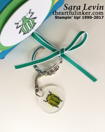 Beetles and Bugs Keychain from theartfulinker.com