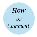 How to Leave a Comment on theartfulinker.com