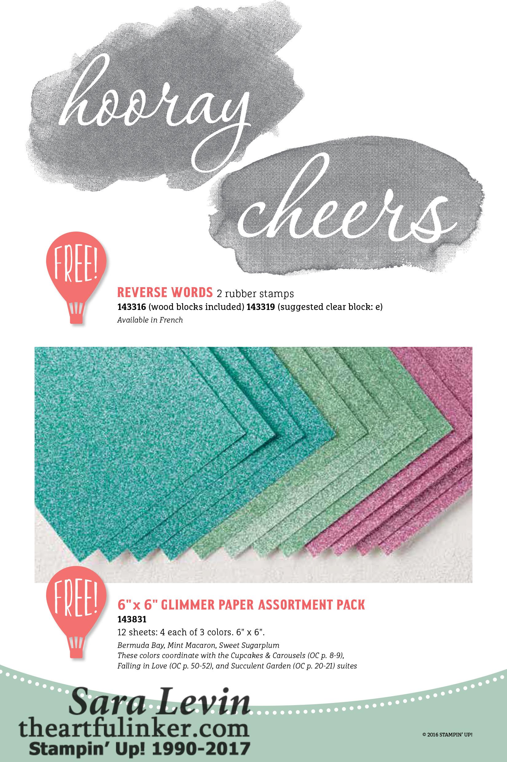 New Sale-A-Bration and a Project Life Album