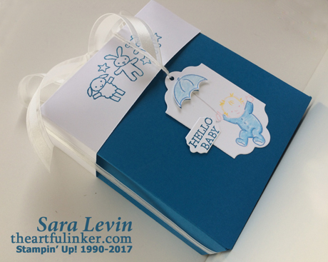 Moon Baby Gift Box side view - from theartfulinker.com