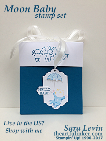 Moon Baby Gift Box from theartfulinker.com