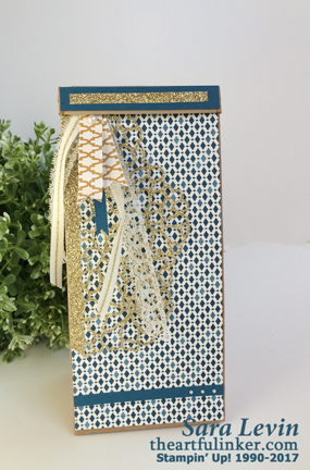 Moroccan Petite Cafe Bag from theartfulinker.com
