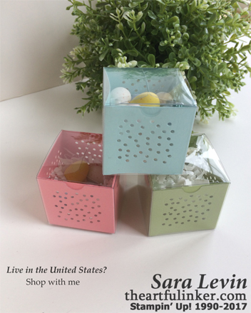 Simple Sunday for Easter - Simple Tiny Treat Boxes - from theartfulinker.com