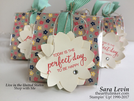 Affectionately Yours Table Treat Bags - detail - from theartfulinker.com