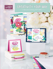 Get a FREE copy of the 2017-18 Stampin' Up! Annual Catalog from theartfulinker.com. Click the picture to find out how! cardmaking, papercraft, rubberstamps, stampinup, saralevin, theartfulinker