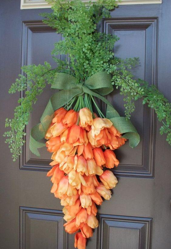 Floral Door Hanger