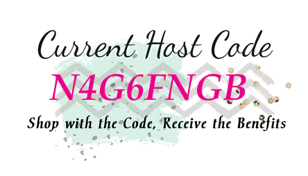 Use the Host Code - N4G6FNGB when ordering from my store http://bit.ly/11tbmJL during May, 2017