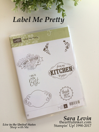 Label Me Pretty stamp set 143861